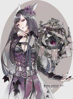Final Fantasy Xiv, Final Fantasy Characters, Final Fantasy Artwork, Female Characters, Anime Characters, Female Character Design, Character Concept, Character Art, Estilo Anime