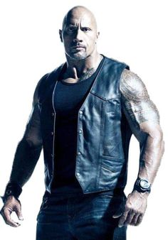 """#Americanactor #DwayneJohnson is also cast of the movie """"#TheFateofTheFurious"""" or Fast 8"""". He played a role as DSS Agent or Luke Hobbs and worn this vest in the scenes of #movie."""