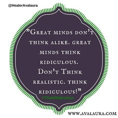 Share if you agree! #thinkridiculous #supersoulsuccess #greatminds #greatness #liveyourbestlife
