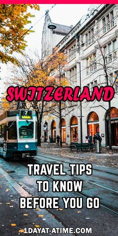 What You Need To Know Before Visiting Switzerland - Travel Tips Switzerland Vacation, Visit Switzerland, Switzerland Travel Guide, Zermatt, Travel Guides, Travel Tips, Travel Plan, Train Travel, Travel Hacks