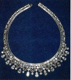 Diamond fringe necklace,Harry Winston