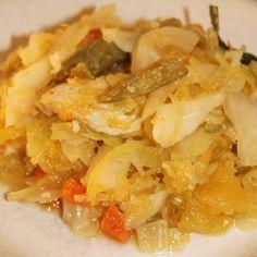 Low Carb Spaghetti Squash Pancit (Filipino Lo Mein) via @lowcarbyum