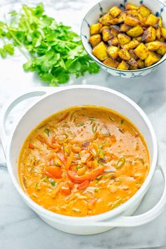 Amazingly mouthwatering Massaman Curry with Roasted Potatoes. So easy and del. Seafood Soup Recipes, Curry Recipes, Asian Recipes, Vegetarian Recipes, Healthy Recipes, Ethnic Recipes, Diet Recipes, Healthy Food, Veg Dishes