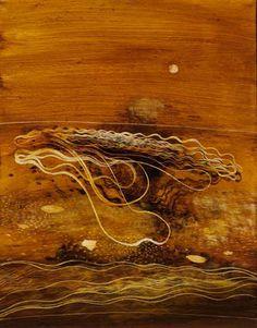 © Philip Hunter ~ Dusty Loop No. 1 ~ 2007 oil on linen at Tim Olsen Gallery Sydney Australia