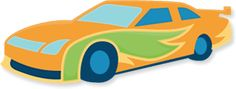 Free freebees gratis download SVG file and or scut file scrapbook paperpierciering. Racecar Race auto