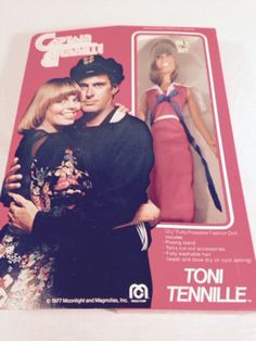VINTAGE Captain and Tennille 1977 RETRO 12 by ReTailsThriftStore