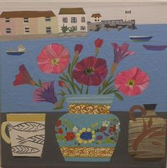 Petunias in St Ives - Emma Williams