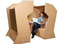 The Cellulose Meeting Pod Encourages Interactivity in Workplaces #architecture trendhunter.com