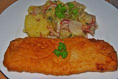 Fisch in Bierteig von Mumie Seafood Boil Recipes, Seafood Appetizers, Shellfish Recipes, Seafood Dishes, Protein Desserts, Healthy Protein, Best Protein Shakes, Boiled Food, Appetizers For A Crowd