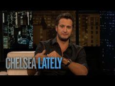 ▶ Luke Bryan Talks Learning to Twerk | Chelsea Lately - YouTube