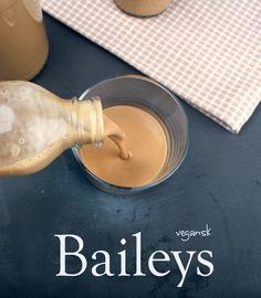 Oppskrift Hjemmelaget Baileys Vegansk Melkefri Sjokolademelk Markers Mark Kokosmelk Havrefløte