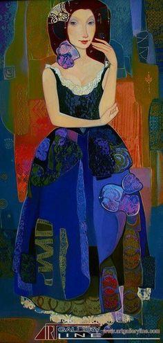 Maia Ramishvilli (b1969; Tbilisi, Georgia) aka Maia Ramish