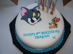 Tom and Jerry Cake   Flickr - Photo Sharing!