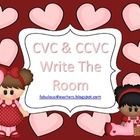 Kindergarten and First grade students will enjoy these CVC and CCVC Valentine Cards as they develop their phoneme segmentation and short vowel awar...