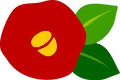 つばきイラスト | まとめアットウィキにログイン Fabric Stamping, Whimsical, Illustration Art, Symbols, Letters, Draw, Japan, Logos, Flowers