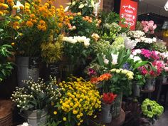 Flower shops in Japan are always so beautifully presented and really well priced