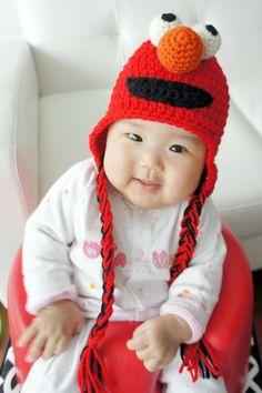 Sombrero de Elmo Monster sombrero sombrero del bebé del