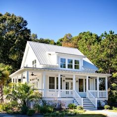 American Farmhouse. Wrap Around Porch Design Ideas, Pictures, Remodel, and Decor