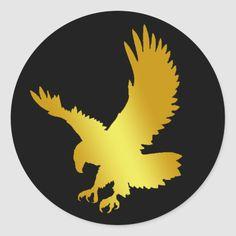 Size: inch (sheet of Gender: unisex. Eagle Design, Eagle Logo, Headboard Designs, Round Stickers, Custom Stickers, Eagles, Logo Design, Vibrant, Classic