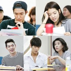 Heirs ♡ Lee Min-ho , Park Shin-hye , Choi Jin-hyuk , Kim Woo-bin - SBS Releases Pictures of the Full Cast Script Reading for Heirs Korean Drama, The Heirs, Korean Dramas, Choi Jin Hyuk, Kang Min Hyuk, Kim Woo Bin, Lee Min Ho Kdrama, Lee Min Ho Photos, O Drama