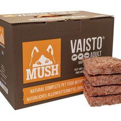 A MUSH 10kg-os kiszerelés a legjobb választás nagytestű kutyáknak! Gazdaságos, tökéletes tápanyagtartalom, rengeteg természetes vitamin, praktikus doboz!