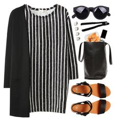 """#868"" by maartinavg ❤ liked on Polyvore featuring Chicnova Fashion, Shellys, Aesop, T3 and Maison Margiela"