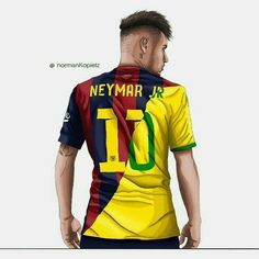 Simple Tips To Help You Understand Football. The American sport of football is very popular globally. Whether you are new to the sport or have played for year, this article has some of the best techni Barcelona Futbol Club, Neymar Barcelona, Lionel Messi, Neymar E Messi, Neymar Jr 2017, Good Soccer Players, Football Players, Soccer Stars, Sports Memes