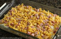 EASY BREAKFAST CASSEROLE RECIPE + PAM BAKING KIT GIVEAWAY — Celebrations at Home