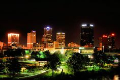 Little Rock: I've been here probably 30 times. It's a great city, and I always enjoy my trips here.