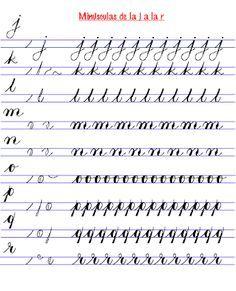 Resultado de imagen para ejercicios de caligrafia