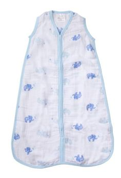 EsTong Baby Toddler Cotton Sleep Bag and Sack Detachable Sleeve Wearable Blanket Blue crowns Medium