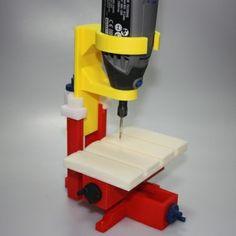 3D printable object Mini milling machine