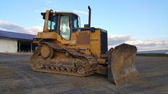 Caterpillar D6M XL Bull Dozer Crawler Tractor Diesel Engine Machine High Tracks