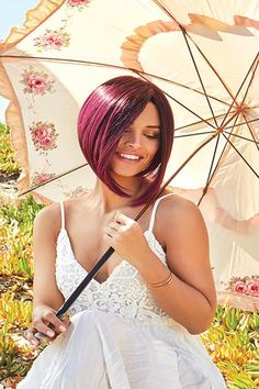 69 Best Living In Color Images Wig Styles Fashion Wigs