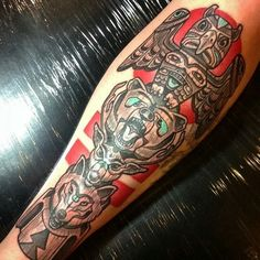 Style of totem tattoo