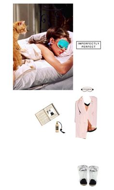 """Beauty Sleep"" by vintagehome on Polyvore featuring Boohoo, Victoria's Secret, Versace 19•69 and Wildfox"