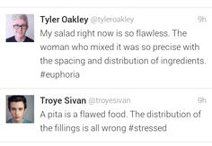LOL #Troyler...opposites attract you know