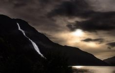 The Langfoss waterfall in Norway William Ogilvie of Glasgow, Scotland