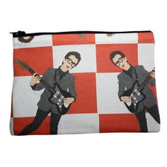 Elvis Zipper Pouch now featured on Fab.