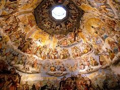 """Inside the Duomo in Florence. This is not to be missed! My best advise for all of Italy is simply to """"climb the Duomo!"""" You will not be disappointed."""