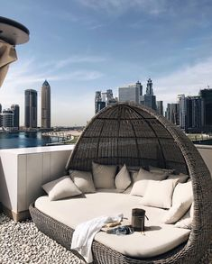 Until further notice. Outdoor Furniture, Outdoor Decor, Vacation Trips, Bed, Places, Instagram, Home Decor, Dubai, Travel