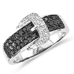 Black Diamond Ring Buckle Fashion Band 10k White Gold (0.45 ct.tw), Size 6.5 Jewel Tie,http://www.amazon.com/dp/B00CJ0TBNG/ref=cm_sw_r_pi_dp_lhsBtb1TBDWSS8CW