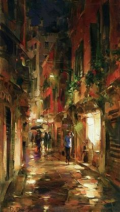Street At Night, Dmitri Danish