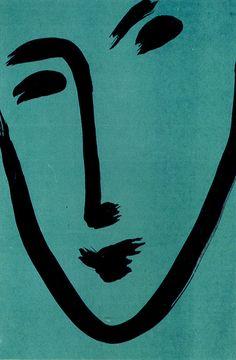 HENRI MATISSE,FACE-MASK, 1951