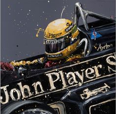 """Senna+JPS""+greetings+card, £4.25"