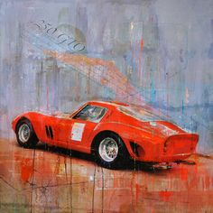Maybe the most beautiful car ever made: Ferrari 250 GTO
