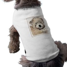 #Soft Coated Wheaten Terrier Puppy T-Shirt - #puppy #dog #dogs #pet #pets #cute #doggie #doggieshirt