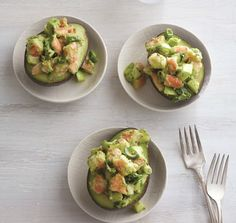 A Rebecca Katz Recipe - Beauty and Well-Being Clean Recipes, Fish Recipes, Cooking Recipes, Healthy Recipes, What's Cooking, Brain Boosting Foods, Shrimp Avocado, Fast Metabolism Diet, How To Cook Shrimp