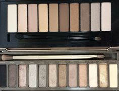 L'Oreal La Palette Nude 1 vs. Urban Decay Naked 2- See Post for Dupe Swatches