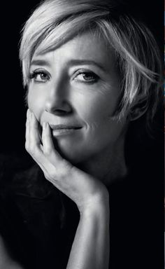 Emma Thompson, my favourite actress - she always strikes an emotional chord and I can just imagine sharing a bottle (or two) of wine with her and laughing 'til my cheeks hurt.